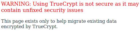 Adieu TrueCrypt
