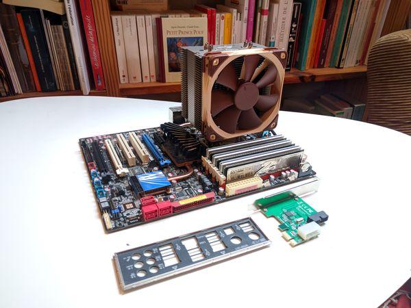 Récupération de composants pour construire un ordinateur polyvalent