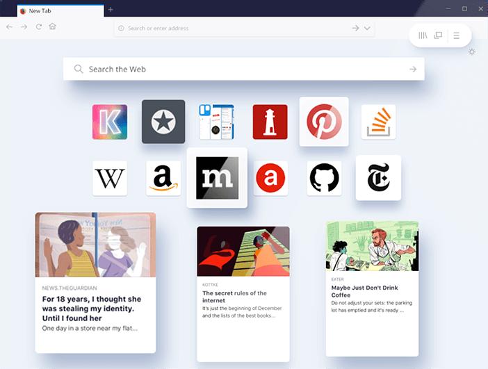 Liste d'extensions Firefox